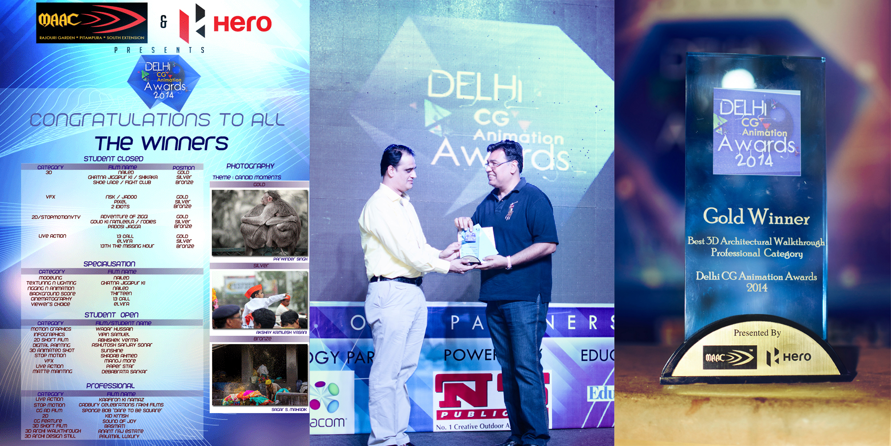 Anant Raj Estates at the Delhi CG Animation Awards 2014